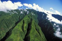 clouds hawaiian mountains - Google Search