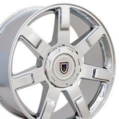22 Rims, Aftermarket Wheels, Cadillac Escalade, Chevy Silverado, Chrome, Car, Vehicles, Poppy, Check