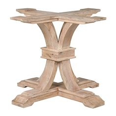 Nice Bella Home Elise Dining Table Base, Stone Wash Bella Home Https://smile. Glass  Top ...
