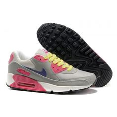 buy online f0f86 681d6 Buy Best Womens Nike Air Max 90 Leather Grey Pink Restock Running Shoes  Outlet Sale