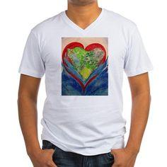 Mark 11: 22-26 P Men's V-Neck T-Shirt