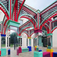 Pleasure Garden from London Design Festival 2015 - one of the most popular Instagram images of the festival