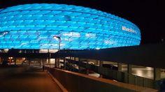 Munich -Allianz Arena in blue By TSV 1860 München