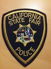 California State Fair Police Patch (Law Enforcement)