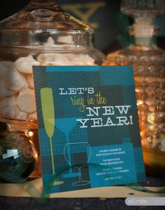 Retro New Years Eve Party Printables | Ellinée | handcraft your life