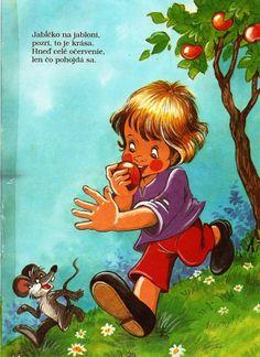 veršíky Winnie The Pooh, Disney Characters, Fictional Characters, Childhood, Album, Children, Baby, Cartoons, Apple
