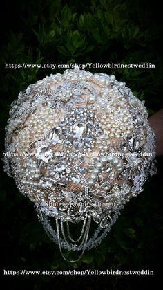40 Pcs Gold Rhinestone Brooches Set Crystal Wedding Invitation