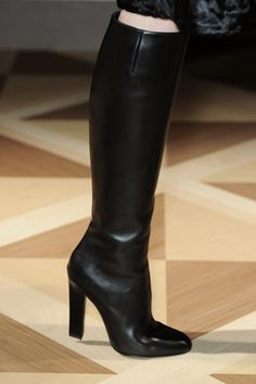 Black Leather Raja Boot | Salvatore Ferragamo