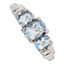 Pretty Aquamarine Ring!