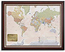 Personalized US Traveler Map - Personalized us travel map