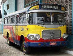 OLD BRAZILIAN BUS MERCEDES BENZ 1959 - MANGARATIBA / RIO DE JANEIRO