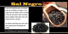 Cozinha Simples da Deia: Sal Negro - Você conhece?