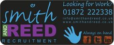 Display our car sticker to win a Android tablet. Smith and Reed Recruitment Agency