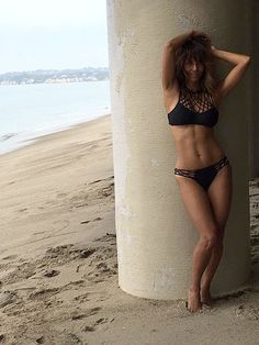 Halle Berry Looks Flawless in a Bikini at 50…                              …
