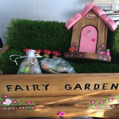Complete Fairy Garden set up! Enquiries welcome!
