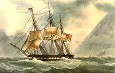 Fragata británica 1830