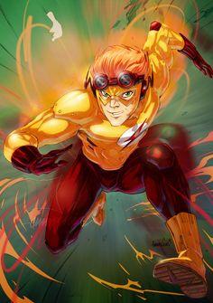 Kid Flash by emmshin on DeviantArt