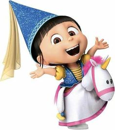 *AGNES and her UNICORN ~ Despicable Me 2, 2013