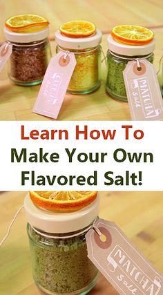 Infused your food with the right amount of bursting flavors that is out of this world with these all-time favorites… flavored sea salts! 3 flavors included on this recipe. See the video and written instructions here: http://gwyl.io/learn-make-flavored-salt/