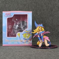 29.34$  Buy now - http://digl4.justgood.pw/ali/go.php?t=32723875130 - 18CM Yugi Muto's Dark Magician Girl Anime Yu Gi Oh ZEXAL King of Games PVC Action Figure Collection Model Toys Free shipping 29.34$