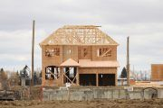 Canadian #housingstarts hit a 3 year high with detached homes leading they way. More and more are looking for not only homes to #socialdistance in but that can do a lot of things from home office and school to gym. And so much more. Home Builders, Home Office, Building A House, Construction, Homes, Cabin, Gym, House Styles, School
