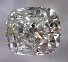 1.03-Carat Cushion Modified Brilliant Cut Diamond  $4402.73     This Fancy-cut D-color, and SI1-clarity diamond comes accompanied by a diamond grading report from GIA