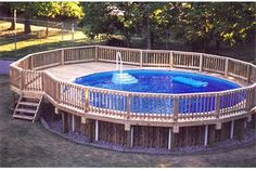 How to Build a Deck Around a Pool (4 Steps) | eHow