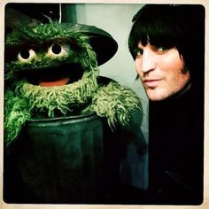 The Mighty Boosh, Oscar The Grouch, Noel Fielding, Candy Floss, Fantasy Male, Jim Henson, Very Excited, Fields, Hedgehog