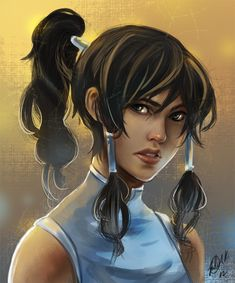 Korra by ~miyumon on deviantART