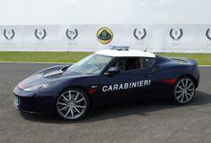 Lotus Evora S dei Carabinieri: foto - Foto - Auto - Virgilio Auto e Moto