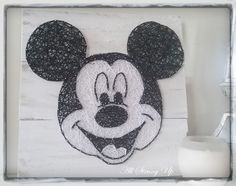 mickey mouse string art all strung up