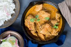 A wonderful blend of spices and coconut gives this curry a unique taste. The texture too is amazing with ground spices and coconut. Give it a try.