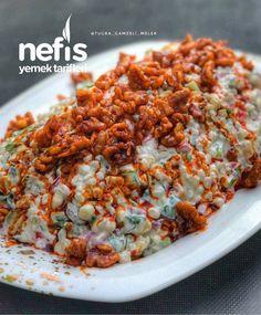Healthy Soup Recipes, Salad Recipes, Cooking Recipes, Turkish Recipes, Ethnic Recipes, Mediterranean Recipes, Good Food, Food Porn, Food And Drink