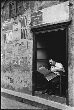 Leonard Freed - Sicilia. Italy (1974)