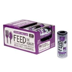 Buy Gum, Feed Someone - Doesn't get any easier than that.  Feed the Hungry Peppermint Vanilla 15ct. Gum Tube - Project 7.com
