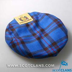Clan Elliot Tartan Cap: