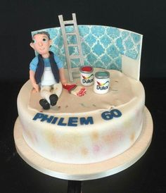 This is for a special customer , Phelim has been our painter/ decorator for over 30 years !!! Happy birthday