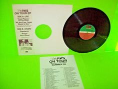 Sparks – On Tour EP Vintage Vinyl Record PROMO Only w/ Insert Cool Places NM #NewWaveElectronicaSynthPop