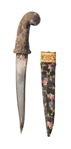 A MOTTLED HARD-STONE HILTED DAGGER | MUGHAL INDIA, THE HILT 19TH CENTURY, THE BLADE EARLIER | 18th Century, dagger | Christie's Antique Interior, Oldies But Goodies, 18th Century, Blade, India, Fine Art, Stone, Antiques, Antiquities