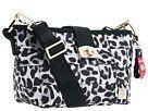Harveys Seatbelt Bag Ice Leopard Carriage Medium Hobo Handbags - Gray