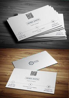 Creative & Minimal Business Card Template
