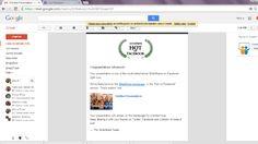 ESTOU FELIZ! Recebi por email esta informação do Slideshare. blog.miluetone.com