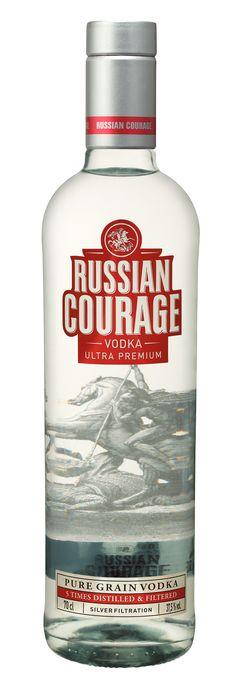 VODKA RUSSIAN COURAGE
