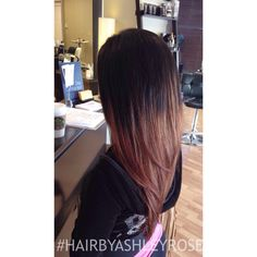 2nd session ombré on level 1 hair