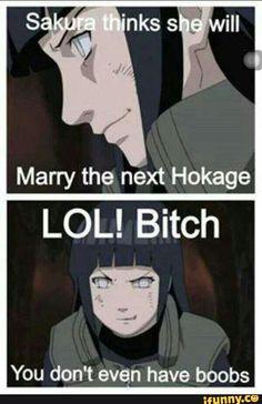 Well damn Hinata lol XD/ K, I'm a Naruto/Sakura shipper, but even I snickered at this.>>> lol it's true , but not a narusaku fan Boruto, Naruto Uzumaki, Naruhina, Sasuke, Sasunaru, Naruto Quotes, Funny Naruto Memes, Naruto Comic, Anime Naruto