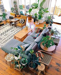 Boho interior decor