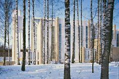 Juha Leiviskä, Myyrmäki Church, Vantaa, 1980-1984