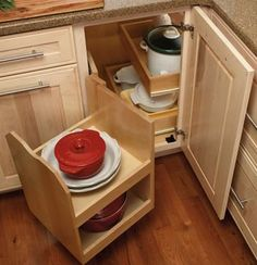 12 best kitchen cabinet blind corner solutions images corner rh pinterest com Kitchen Corner Solutions Upper Cabinet Corner Kitchen Cabinet Organizer