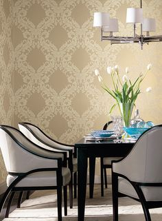 Open Frame Wallpaper design by York Wallcoverings