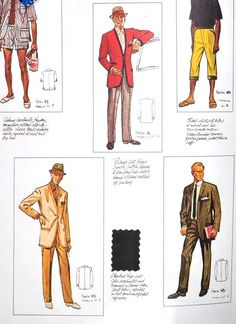 Menswear - 1960s style reference